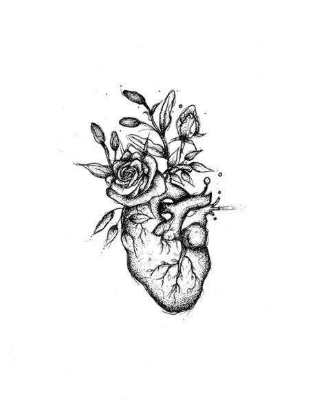 tattoo flash print | Tumblr