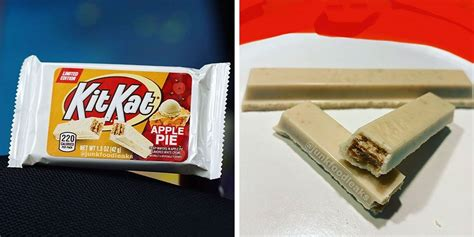 kit kat  reportedly releasing  apple pie flavor
