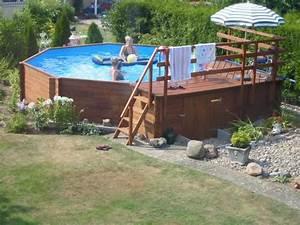 Pool Mit Aufbau : weka massivholzpool 593 310 x 310 cm fs montagen ~ Sanjose-hotels-ca.com Haus und Dekorationen