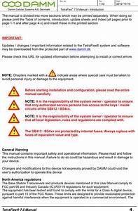 Damm Cellular Systems A S 104013 Door System Transmitter