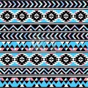 Papier Peint Motif Ethnique by Papier Peint Tribal Aztec Seamless Blue And Pink Pattern