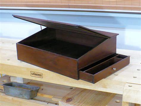 campaign lap desk plans  woodworking