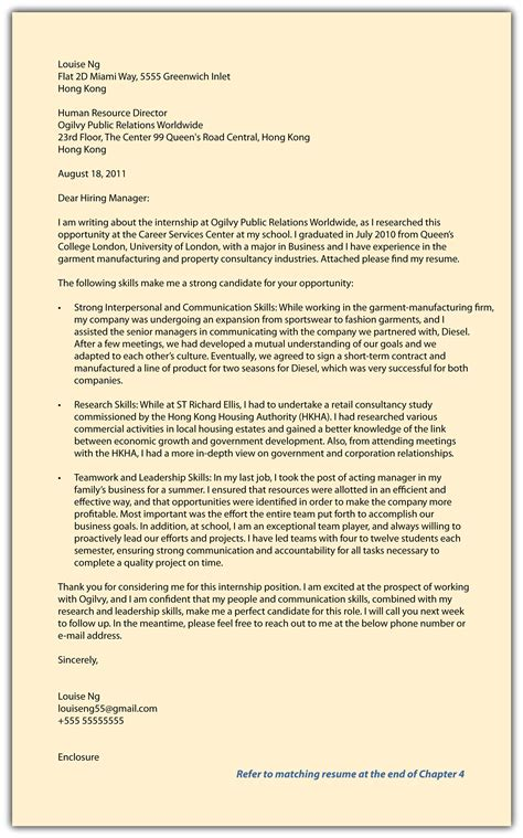 step  continued create  compelling marketing campaign part ii cover letter pitch