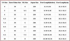 41 european shoe size in cm With wedding dress size conversion