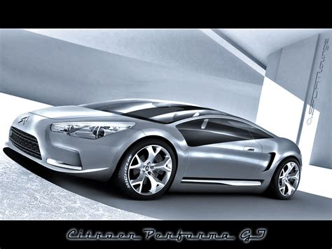 Citroen Performa Gt Concept By Matu07 On Deviantart