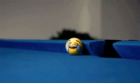 emoji painted billiard balls   playful personalities