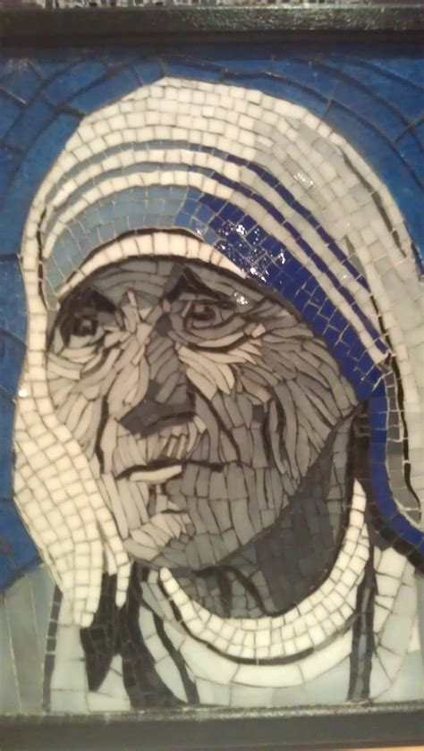 dalene smit artwork mother teresa original mosaic