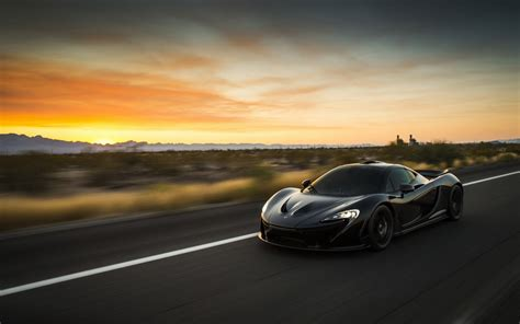 Black Mclaren P1 4k Hd Wallpaper