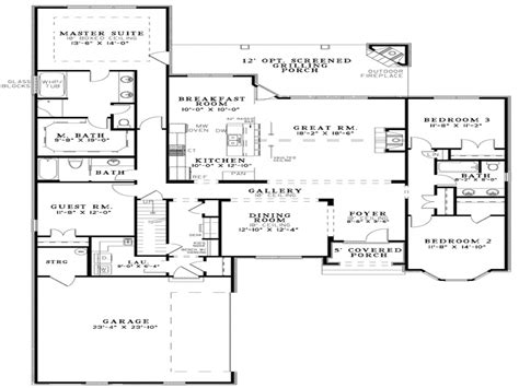 open floor plans for small houses open concept kitchen best small open floor plans small