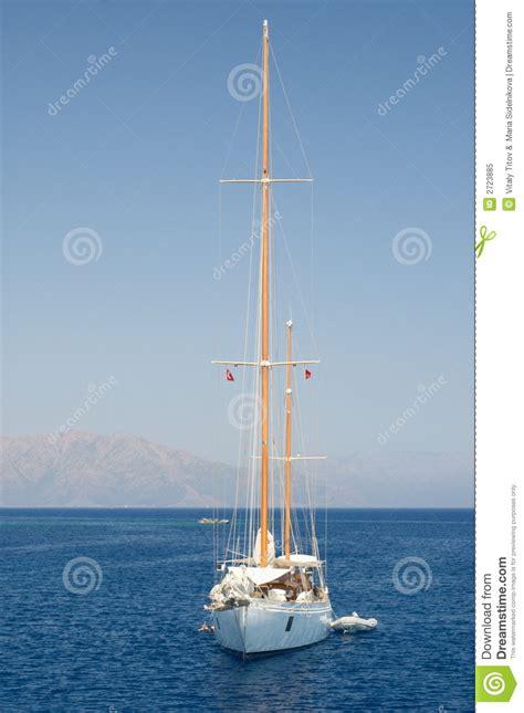 Sailboat At Sea by Sailboat At Sea Royalty Free Stock Photo Image 2723885