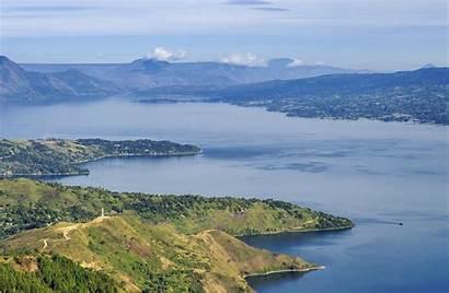 Lake Destination Panorama Toba