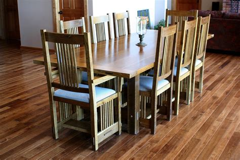 Stickley Dining Room Table & Chairs Finewoodworking