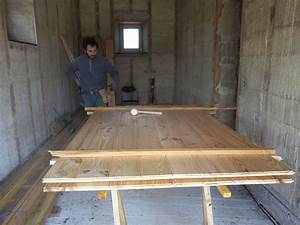 Fabriquer Volet Bois : lame de bois pour porte de garage bois eco ~ Nature-et-papiers.com Idées de Décoration