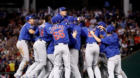 Chicago Cubs Win First World Series In 108 Years