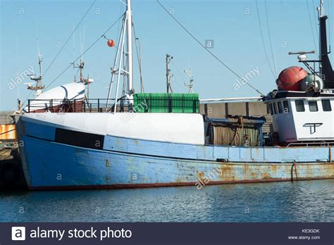 Boat Harbour Denmark Fishing by Denmark Hanstholm Stock Photos Denmark Hanstholm Stock