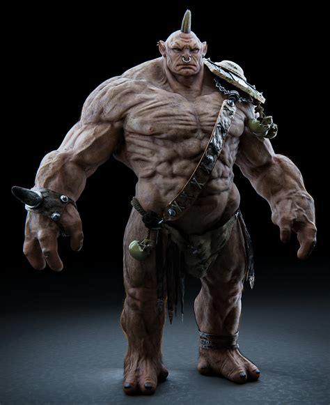 ArtStation - Ogre - 3D model   Resources