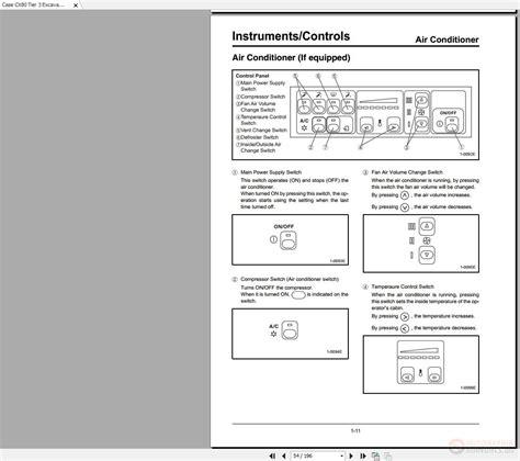 case cx tier  excavator operators manual homepage  biggest store service manual
