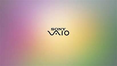 Vaio Sony Wallpapers Desktop Purple Laptop Background