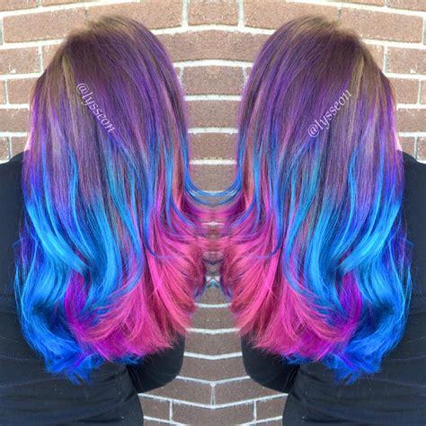 Unicorn Hues Hair Colors Ideas