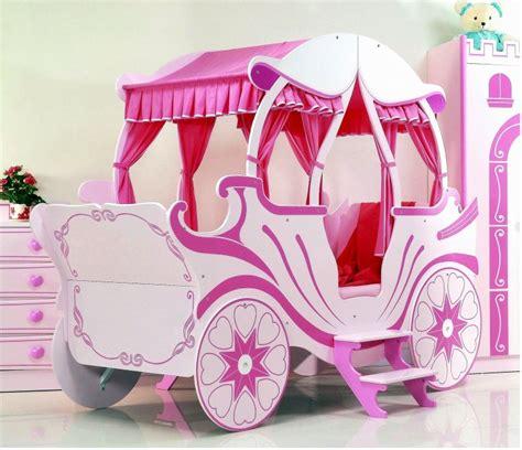 Bett Kutsche Pink Kinderbett Mädchen Prinzessin