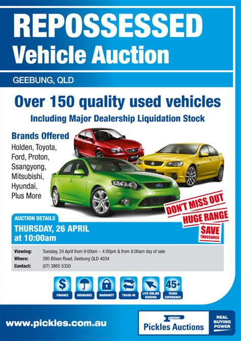 Repossessed Boat Auctions Qld promotions