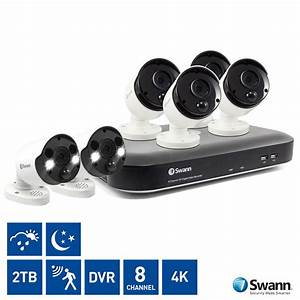 Swann 8 Channel 2tb Dvr With 4 X 4k Ultra Hd Thermal