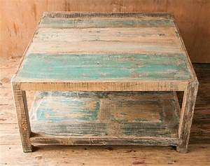 Artistic yet unique distressed coffee table lgilabcom for Distressed look coffee tables