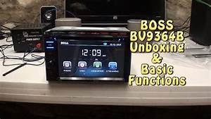 Boss Audio Bv9364b Unboxing  U0026 Basic Function Test