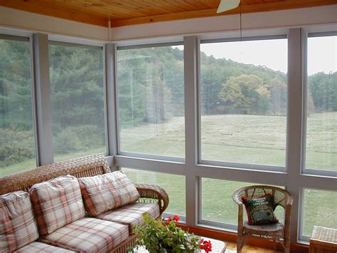 installing windows for screened porch sunroom