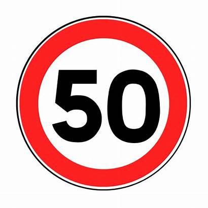 Speed Limit Clipart Sign France Signs Road