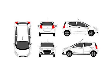 vehicle templates how to design a car wrap designcontest