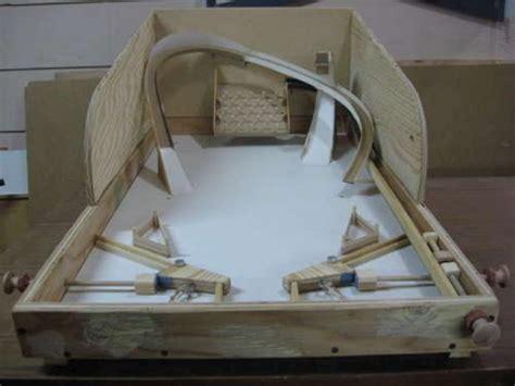 wooden pinball machine plans diy  diy modern
