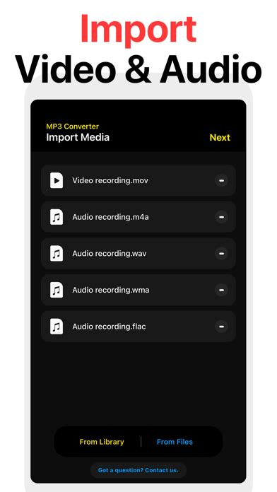 For example, you might want to import some uncompressed files into your music library as compressed files to save disk space. iPhone Giveaway of the Day - My MP3 Converter