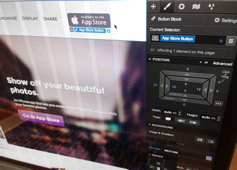 webflow lets  design responsive websites visually