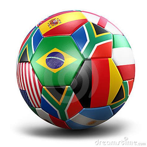 world cup soccer ball royalty  stock photo image