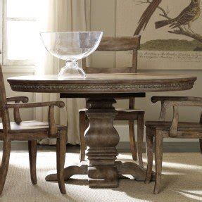 Round Dining Table With Leaf Extension   Foter