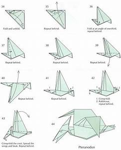 How To Fold Origami Dinosaurs