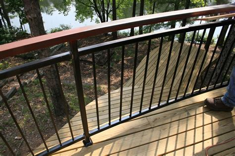 deck railing designs wood distinctive