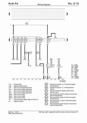 2014 Audi A4 User Wiring Diagram 3727 Julialik Es