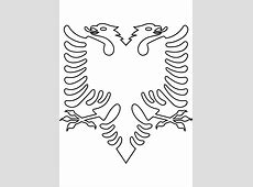 Clipart Albanian Eagle no background