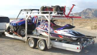 Sled Deck Ramp by Montrose Trailers Atv