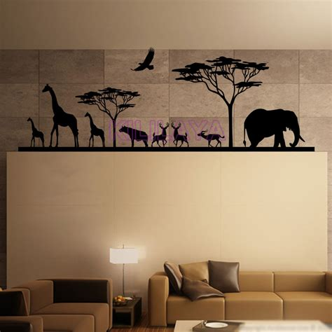 stickers phrase chambre adulte and animals vinyl wall decals