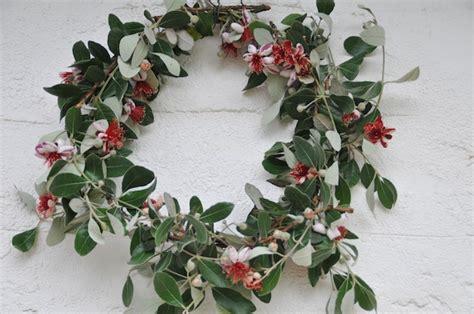 rummage the feijoa christmas wreath