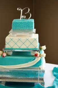 turquoise wedding cakes one sweet treat b white turquoise cake