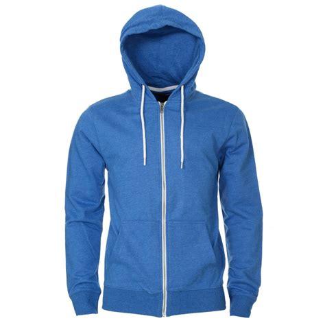 mens casual hoodie blue mens blue casual zip up hoody