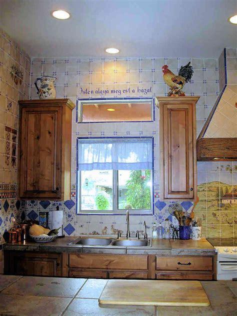 European Style Country Kitchen decorative wall tiles
