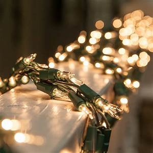 Battery Operated Picture Light Garland Lights 9 39 Garland Lights 300 Clear Lamps Green