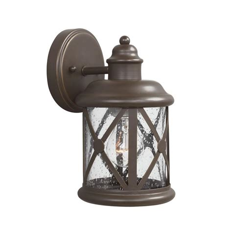 sea gull lighting lancaster 2 light antique bronze outdoor