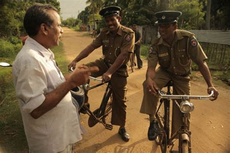 bicycle patrols rebuild trust  sri lankas police