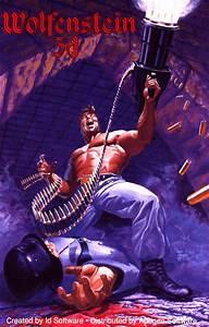 Wolfenstein 3D (1992) DOS box cover art - MobyGames